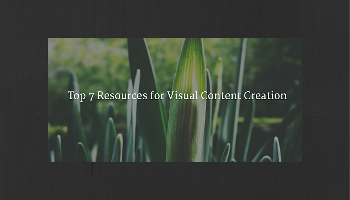Resources for Visual Content Creation
